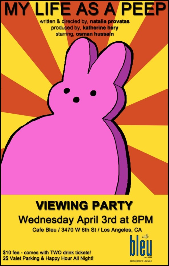 My Life As A Peep Viewing Party