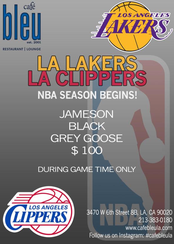 LA Lakers VS. LA Clippers