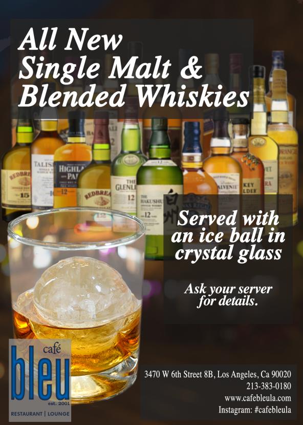 Single Malt & Blended Whiskies