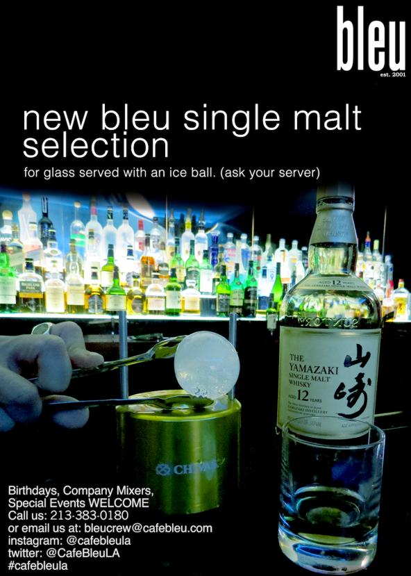 New Single Malt & Whiskey Selection