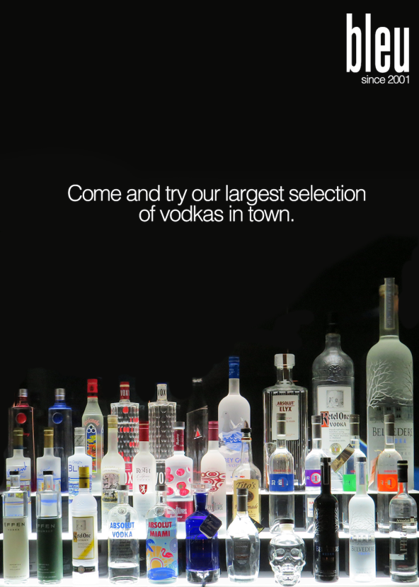 New Vodka Selection