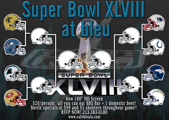 THE Super Bowl At bleu!