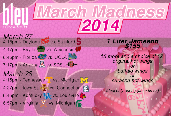 MARCH MADNESS SWEET SIXTEEN